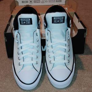 Converse Shoes - Converse Chuck Taylor -All Star White Mid High Str